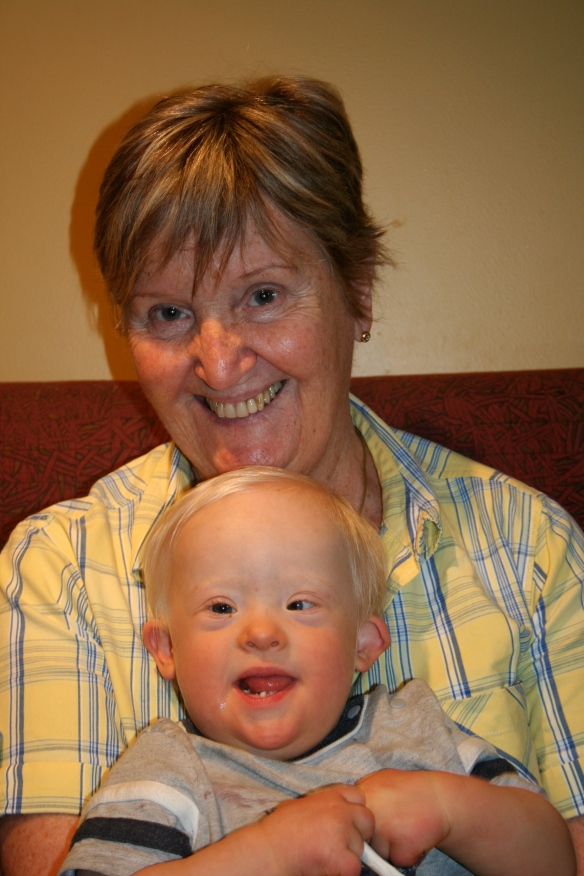 Peter & Granny - January 2009