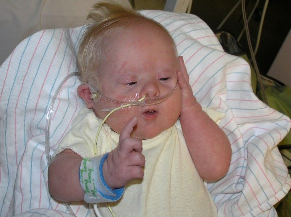 """....let me ponder the meaning of life...."" - June 2007 @ Children's Hospital"