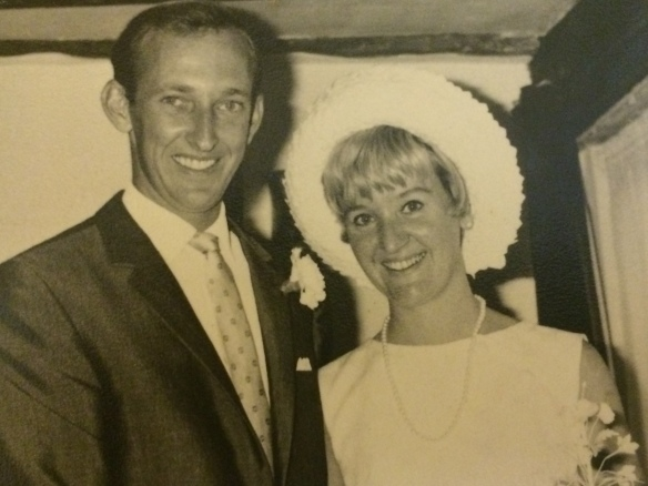 Mr. & Mrs. Alan Mortimer - September 1967